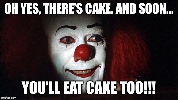 pennywise happy birthday Pennywise Happy Birthday   Imgflip pennywise happy birthday