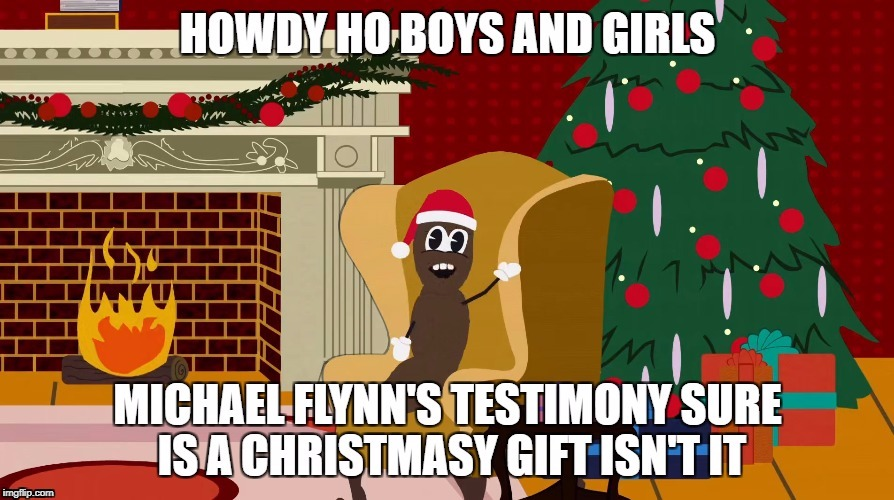 image tagged in howdy ho michael flynn | made w/ Imgflip meme maker