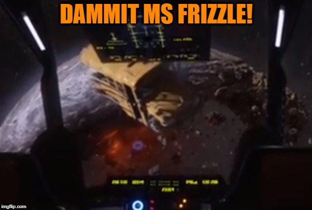 Frizzle | DAMMIT MS FRIZZLE! | image tagged in magic schoolbus,dammit,ms frizzle | made w/ Imgflip meme maker