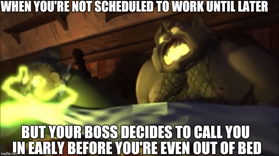 Zarok decides to call in his minions early | WHEN YOU'RE NOT SCHEDULED TO WORK UNTIL LATER BUT YOUR BOSS DECIDES TO CALL YOU IN EARLY BEFORE YOU'RE EVEN OUT OF BED | image tagged in possessed villagers,medievil,called in to work early,medievil playstation,playstation games,zarok the sorceror | made w/ Imgflip meme maker