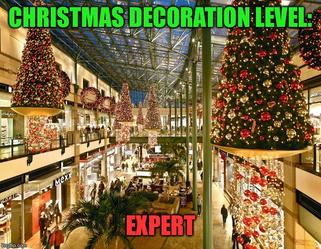 This is too much for me... | CHRISTMAS DECORATION LEVEL: EXPERT | image tagged in christmas,level,level expert | made w/ Imgflip meme maker