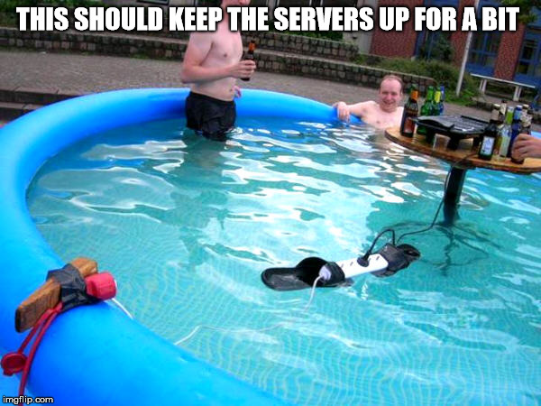 THIS SHOULD KEEP THE SERVERS UP FOR A BIT | image tagged in coinbase,bitcoin,servers | made w/ Imgflip meme maker