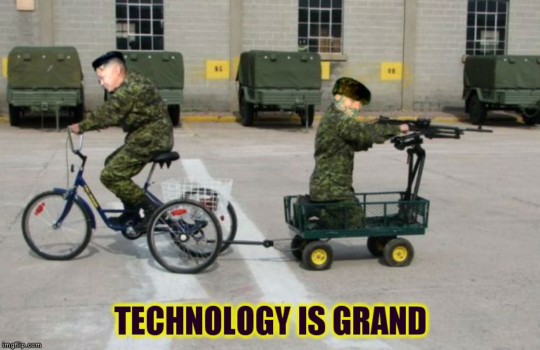 TECHNOLOGY IS GRAND | made w/ Imgflip meme maker