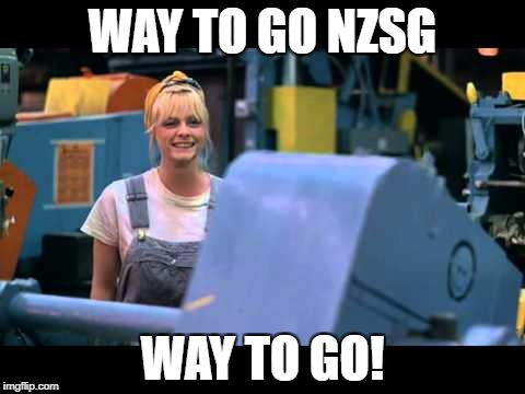 WAY TO GO NZSG WAY TO GO! | made w/ Imgflip meme maker