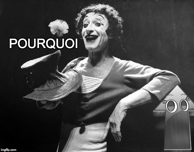Marcel Marceau | POURQUOI | image tagged in marcel marceau | made w/ Imgflip meme maker