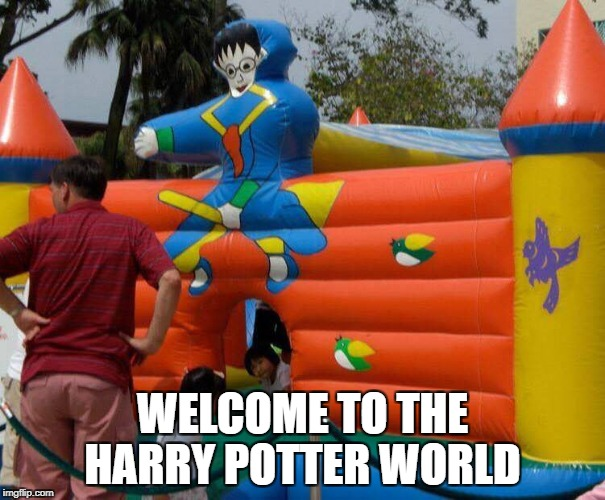 WELCOME TO THE HARRY POTTER WORLD | image tagged in memes,harry potter,world news | made w/ Imgflip meme maker
