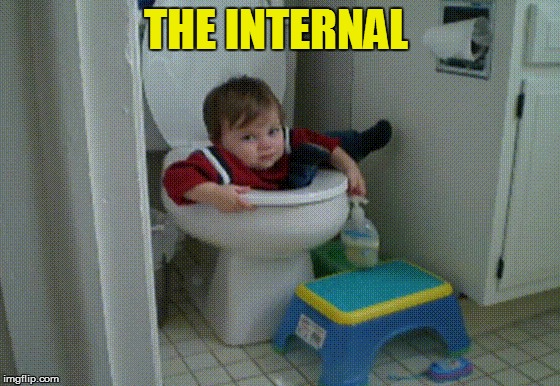 THE INTERNAL | made w/ Imgflip meme maker