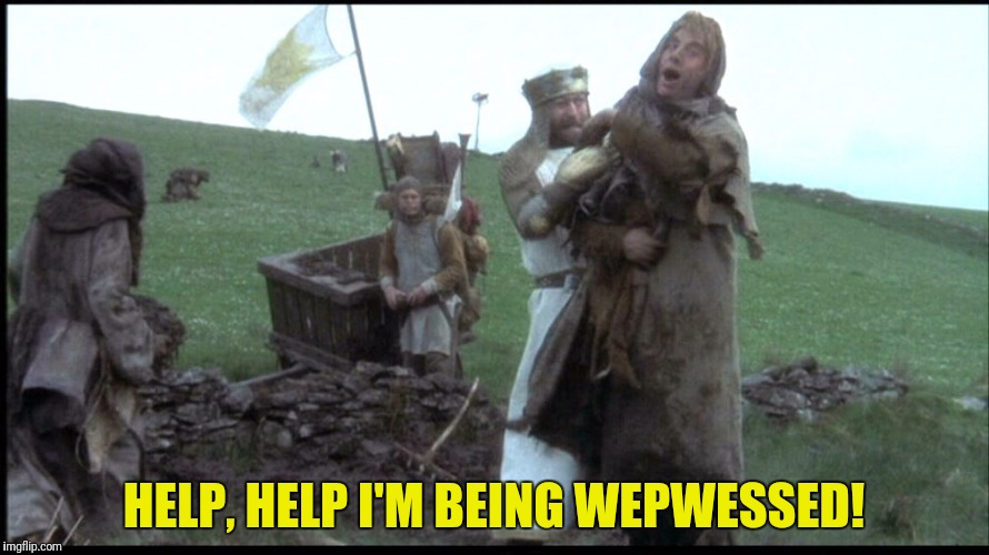 HELP, HELP I'M BEING WEPWESSED! | made w/ Imgflip meme maker
