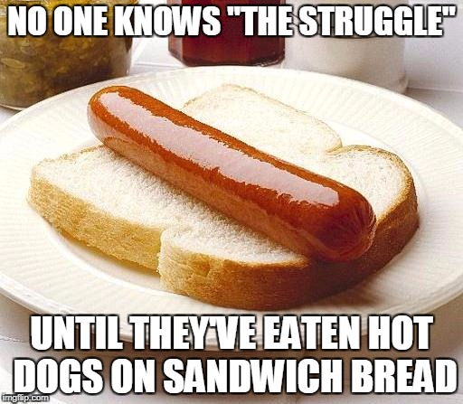 Image result for hot dog sandwich meme