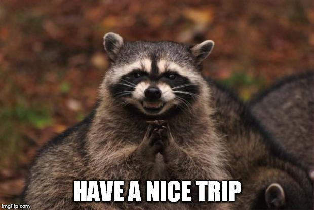 HAVE A NICE TRIP | made w/ Imgflip meme maker