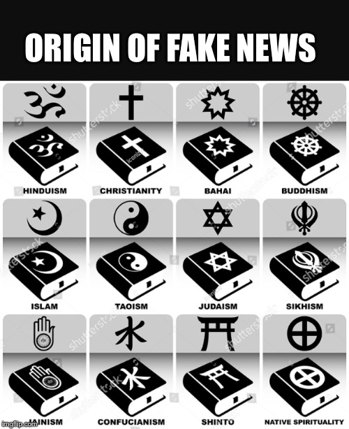 ORIGIN OF FAKE NEWS | image tagged in fakenews | made w/ Imgflip meme maker