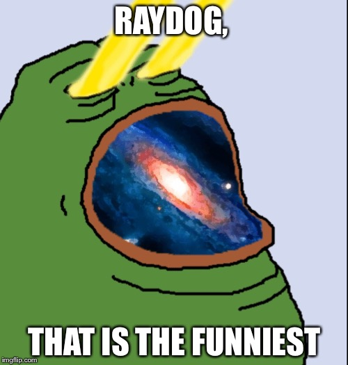 RAYDOG, THAT IS THE FUNNIEST | made w/ Imgflip meme maker