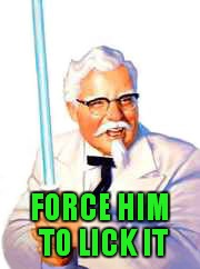 FORCE HIM TO LICK IT | made w/ Imgflip meme maker