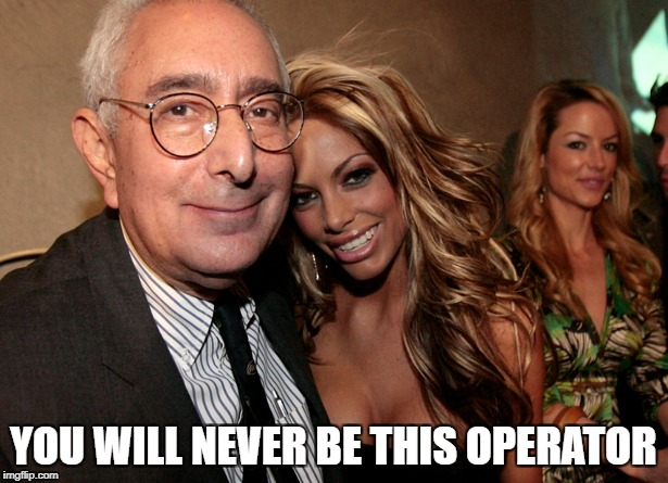 YOU WILL NEVER BE THIS OPERATOR | image tagged in funny,the most interesting man in the world,ferris bueller ben stein,operator | made w/ Imgflip meme maker