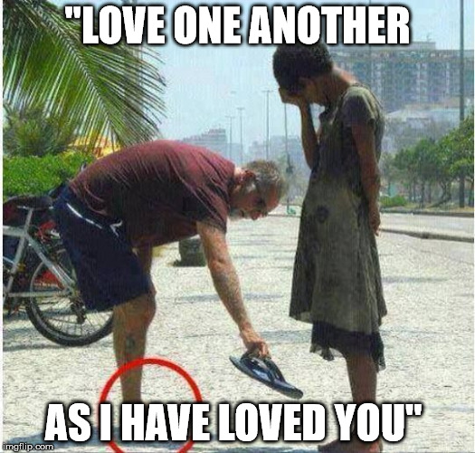 "John 13:34 | ""LOVE ONE ANOTHER AS I HAVE LOVED YOU"" 
