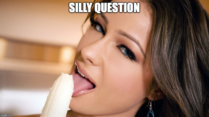 SILLY QUESTION | made w/ Imgflip meme maker