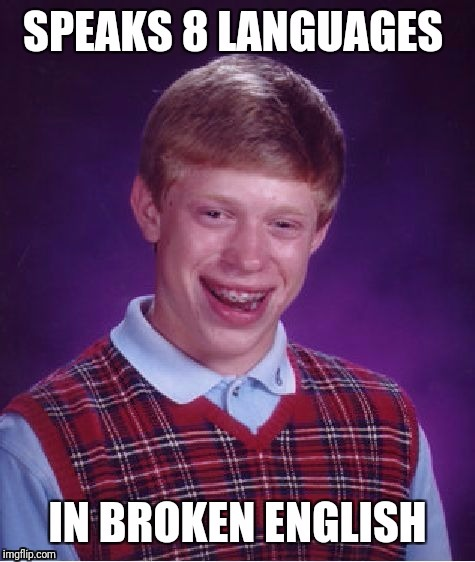 image tagged in bad luck brian | made w/ Imgflip meme maker