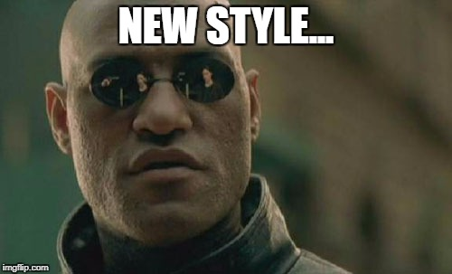 Matrix Morpheus Meme | NEW STYLE... | image tagged in memes,matrix morpheus | made w/ Imgflip meme maker