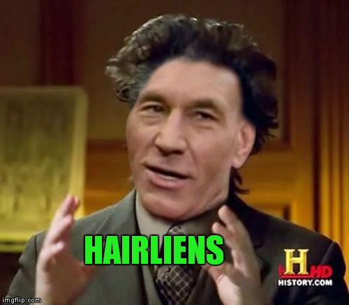 HAIRLIENS | made w/ Imgflip meme maker