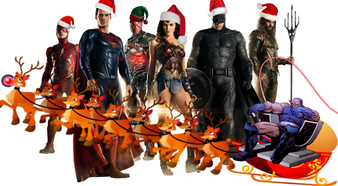 Justice League Christmas Blank Template - Imgflip