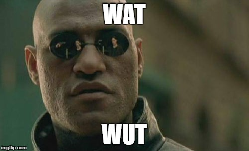 Matrix Morpheus Meme | WAT WUT | image tagged in memes,matrix morpheus | made w/ Imgflip meme maker