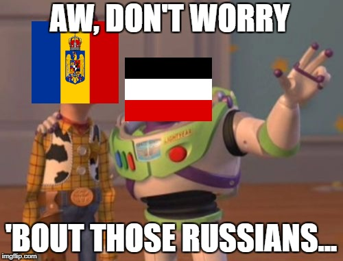 X, X Everywhere Meme | AW, DON'T WORRY 'BOUT THOSE RUSSIANS... | image tagged in memes,x,x everywhere,x x everywhere | made w/ Imgflip meme maker