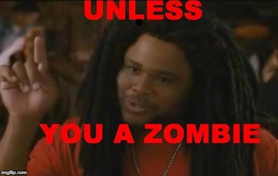 Zombie | . | image tagged in zombie | made w/ Imgflip meme maker