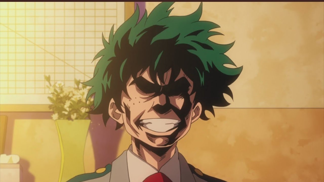 Image result for izuku as all might
