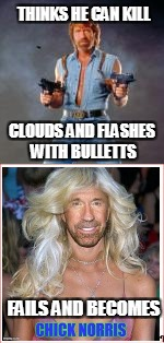 THINKS HE CAN KILL CLOUDS AND FLASHES WITH BULLETTS FAILS AND BECOMES | made w/ Imgflip meme maker