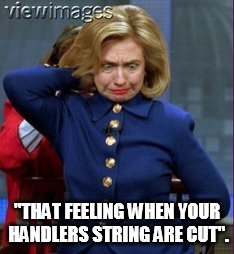 "Deep State Series | ""THAT FEELING WHEN YOUR HANDLERS STRING ARE CUT"". 