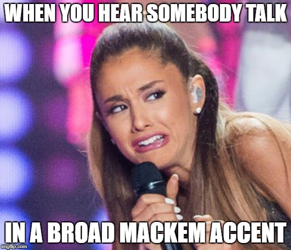 WHEN YOU HEAR SOMEBODY TALK IN A BROAD MACKEM ACCENT | image tagged in cringe fucker,memes,sunderland,mackem | made w/ Imgflip meme maker