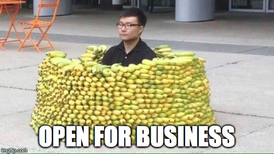 OPEN FOR BUSINESS | made w/ Imgflip meme maker