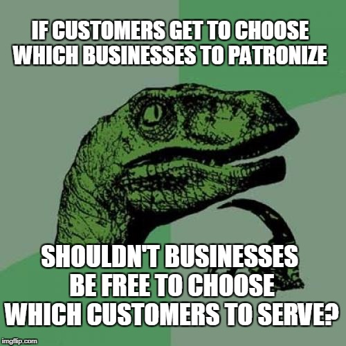 "We all make choices, why call it ""discrimination""?  