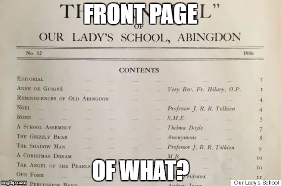 obscure papers | FRONT PAGE OF WHAT? | image tagged in obscure papers | made w/ Imgflip meme maker
