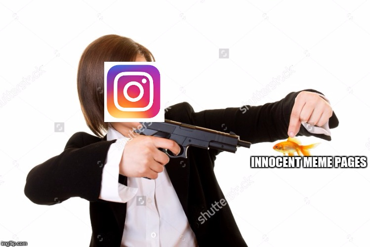 Police Brutality | INNOCENT MEME PAGES | image tagged in instagram | made w/ Imgflip meme maker
