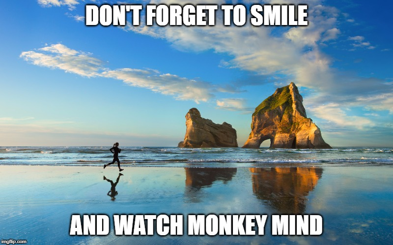 Smile and Monkey Mind | DON'T FORGET TO SMILE AND WATCH MONKEY MIND | image tagged in windows 10 | made w/ Imgflip meme maker