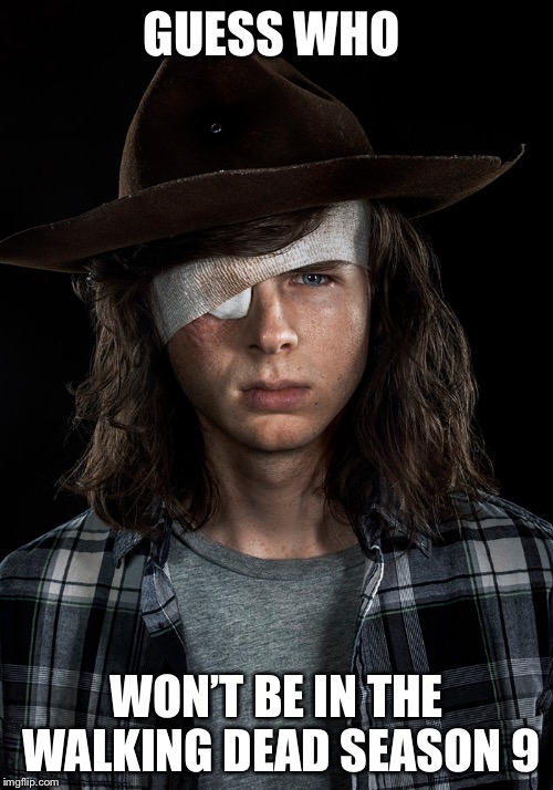 Image Tagged In Carlthe Walking Deadrick And Carlfunny