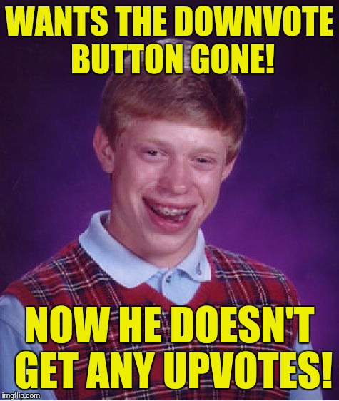 I haven't been here in awhile, but to all on imgflip have a Feliz Navidad! From: Papi70! | WANTS THE DOWNVOTE BUTTON GONE! NOW HE DOESN'T GET ANY UPVOTES! | image tagged in memes,bad luck brian | made w/ Imgflip meme maker
