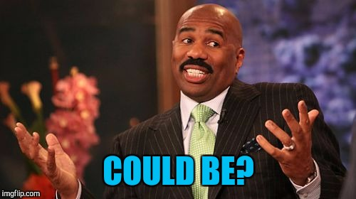 Steve Harvey Meme | COULD BE? | image tagged in memes,steve harvey | made w/ Imgflip meme maker