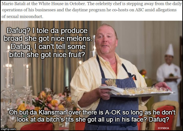 Chef Mario Batali Dafuq | image tagged in dafuq,sexual harrassment | made w/ Imgflip meme maker