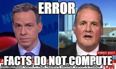 ERROR; FACTS DO NOT COMPUTE | image tagged in tapper,crockett,roy moore,alabama | made w/ Imgflip meme maker