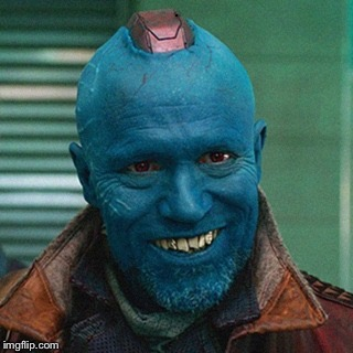 Yondu | . | image tagged in yondu | made w/ Imgflip meme maker