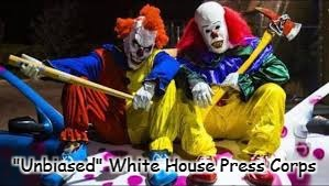 """Unbiased"" White House Press Corps 