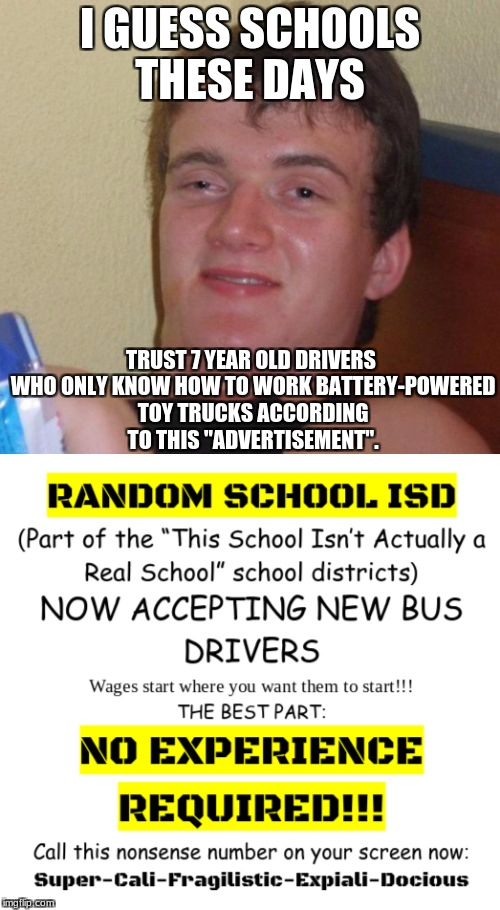 "The Third to Last Line In the ""Advertisement"" is The Real Definition of This Meme 