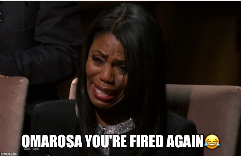 Omarosa You're Fired Again | OMAROSA YOU'RE FIRED AGAIN | image tagged in omarosa,donald trump,youre fired | made w/ Imgflip meme maker