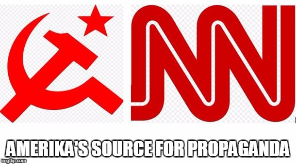 CNN Propaganda Machine | AMERIKA'S SOURCE FOR PROPAGANDA | image tagged in cnn,cnn fake news,fake news | made w/ Imgflip meme maker