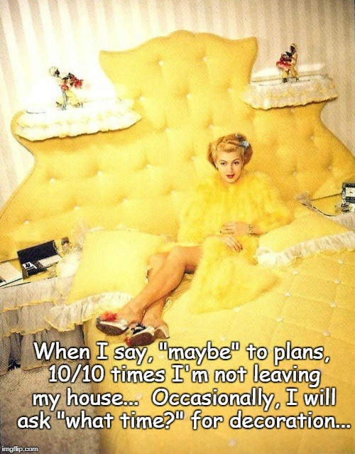 "When I say ""maybe""... 