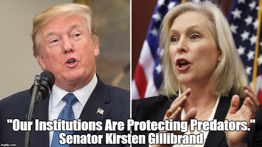 "Kirsten Gillibrand: ""Our Institutions Are Protecting Predators"" 