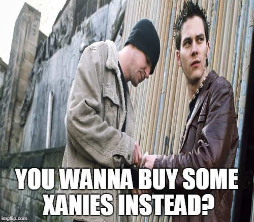 YOU WANNA BUY SOME XANIES INSTEAD? | made w/ Imgflip meme maker