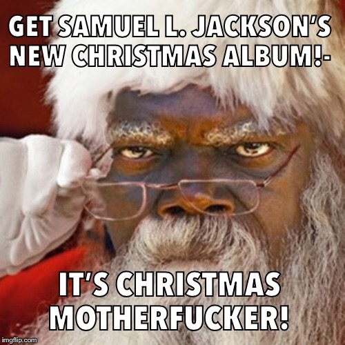 Sammy Claus is coming to town | image tagged in successful black man | made w/ Imgflip meme maker